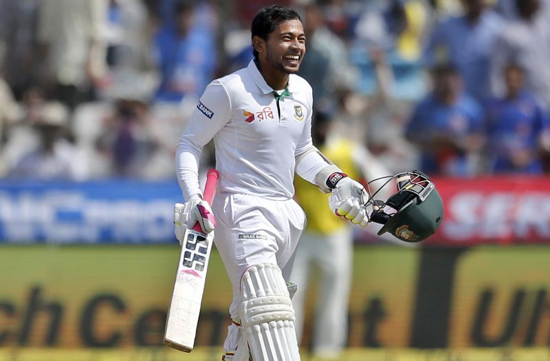 Mushfiqur Rahim: While he was criticised for his poor DRS referral against Virat Kohli and a little shoddy work as a wicketkeeper, Mushfiqur Rahim – the batsman – did what he does the best; to play a gritty knock when his team was under pressure. He also became the fourth Bangladeshi cricketer to have scored 3000 plus runs in the longest format of the game. (Photo: AP)