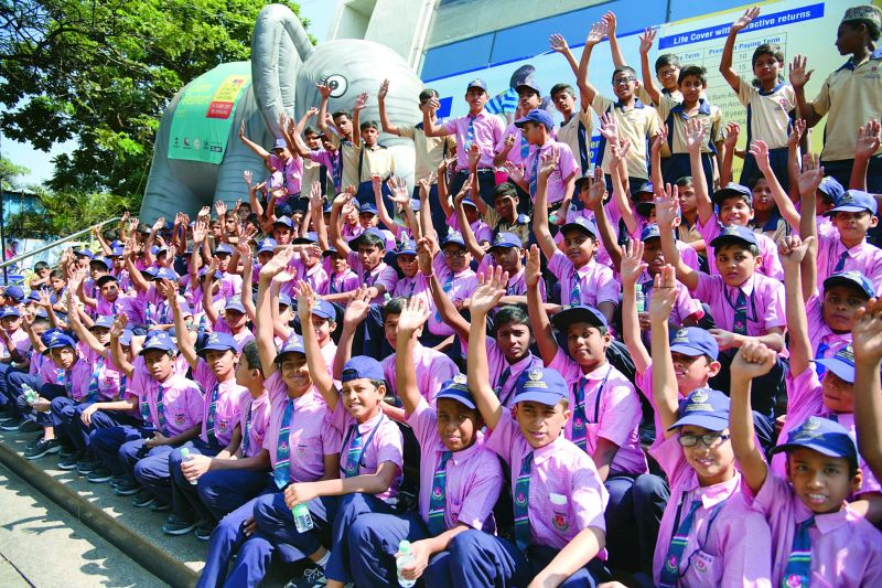 Children from across the country came to attend the festival