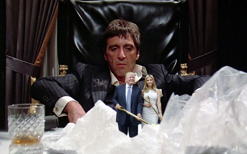 Scarface seems quite perfect with this representation of 'little friends'.