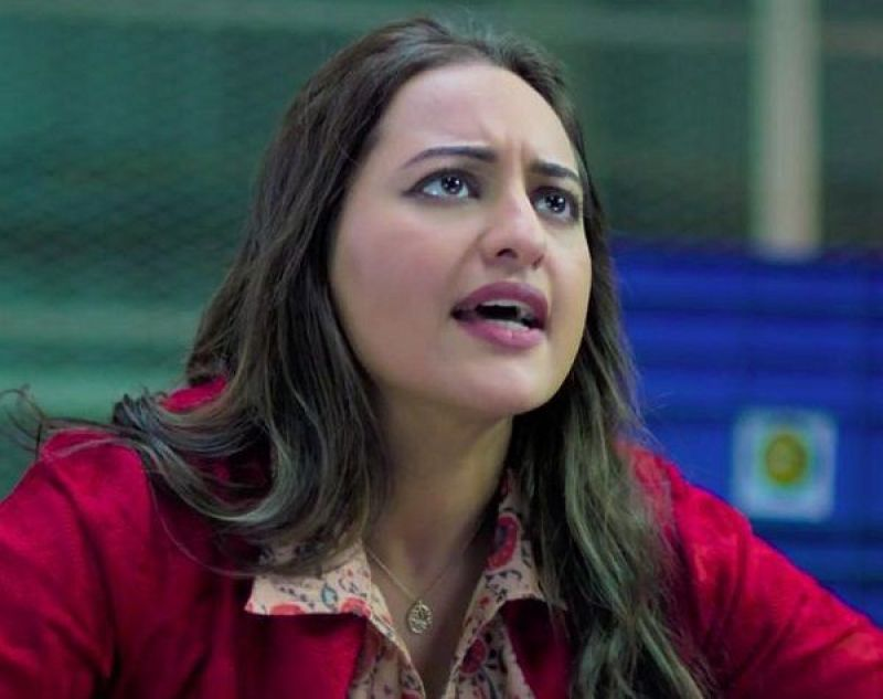 Sonakshi Sinha in a still from the film.