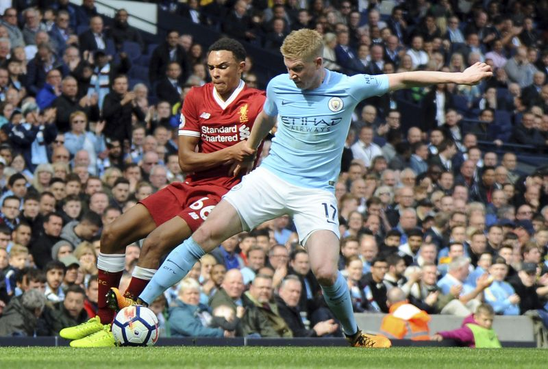 Manchester City puts forth five star show at Premier League clash at Etihad Stadium
