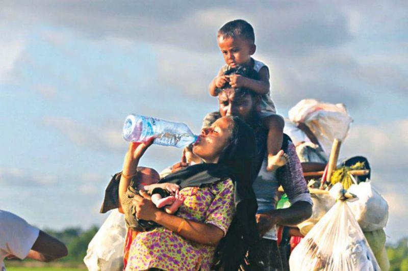 Rohingya portent for Portent path