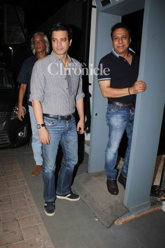 His actor from the film, Rahul Bhatt was also spotted.