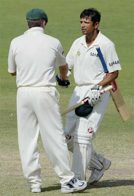 233 vs Australia: The Dravid-Laxman combination proved to be a nightmare for the Aussies, as they helped India record their first win on Australian soil in 22 years. (Photo: AFP)