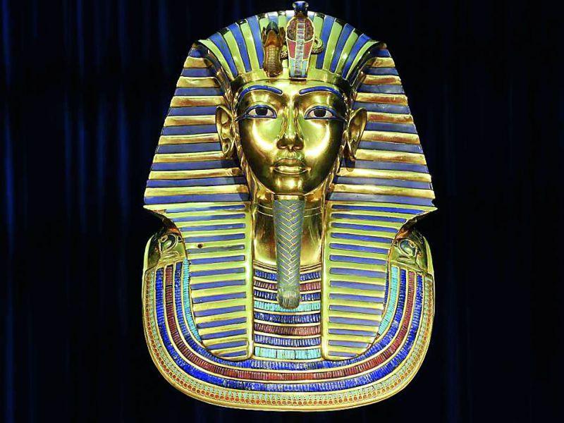 Death Mask of Pharaoh Tutankhamun
