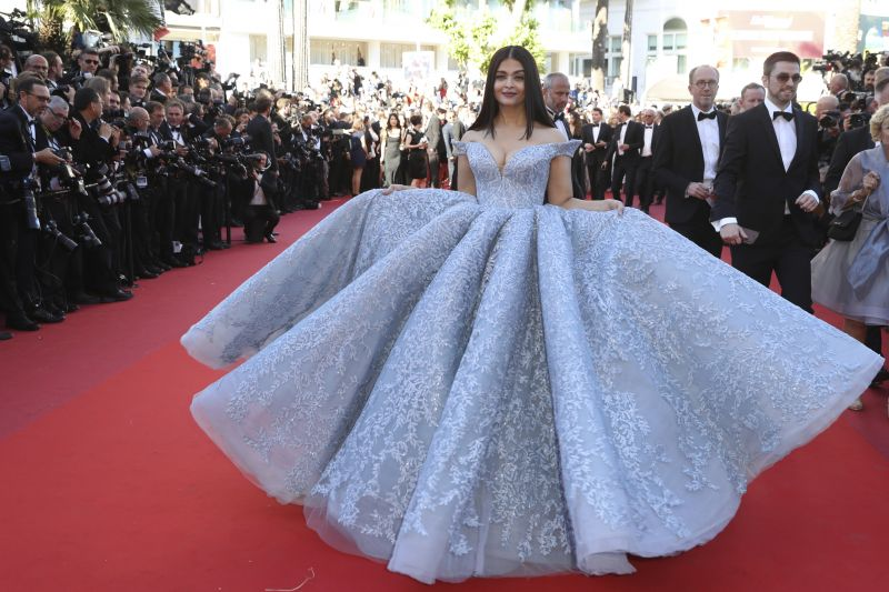 Aishwarya reiterates her status as one of the beautiful women in the world. (Photo: AP)