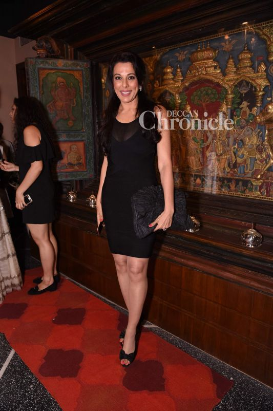 Pooja Bedi was also spotted at the store launch.