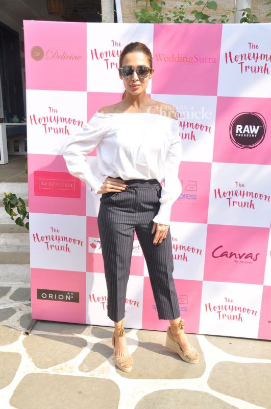 Image result for malaika arora at trunk show