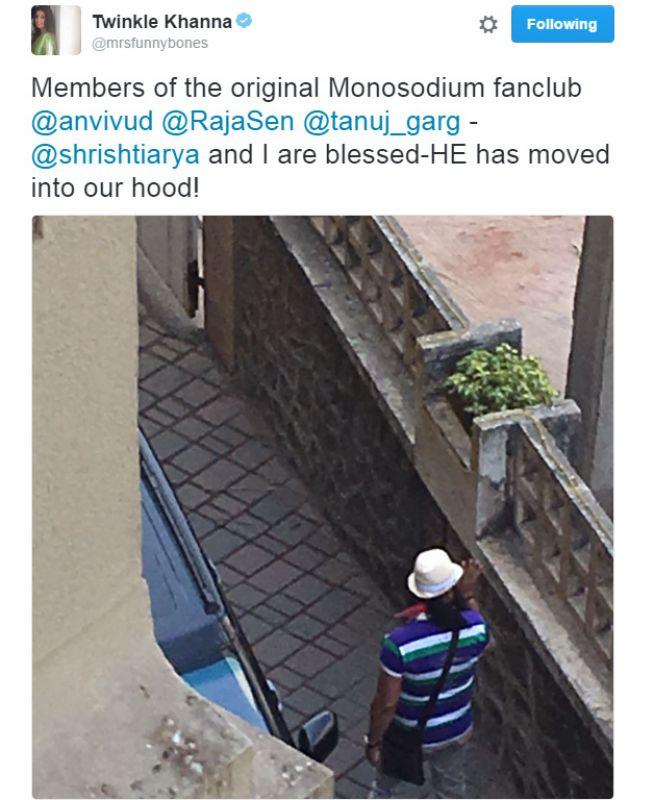 ट्विंकल खन्ना ने शेयर की खबर , गुरमीत राम रहीम सिंह इंसान बन गए हैं उनके पड़ोसी !