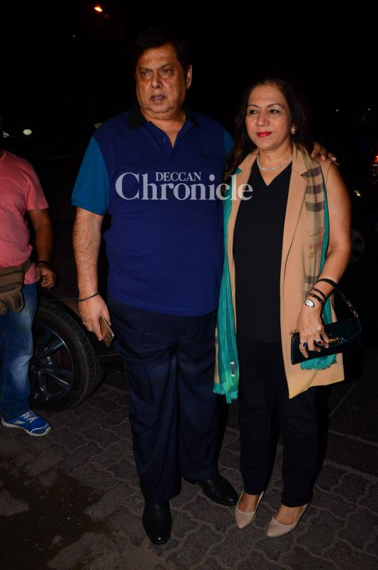 Varun's parents, David and Karuna were also present to celebrate their son's success.