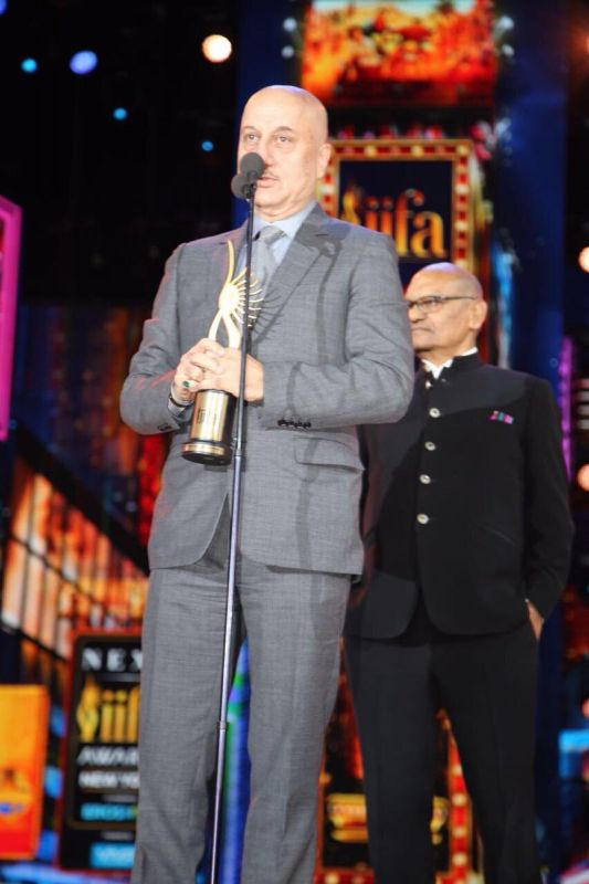 Anupam Kher won the Best Supporting Actor (Male) for playing Sushant Singh Rajput's father in 'M. S. Dhoni: The Untold Story.'
