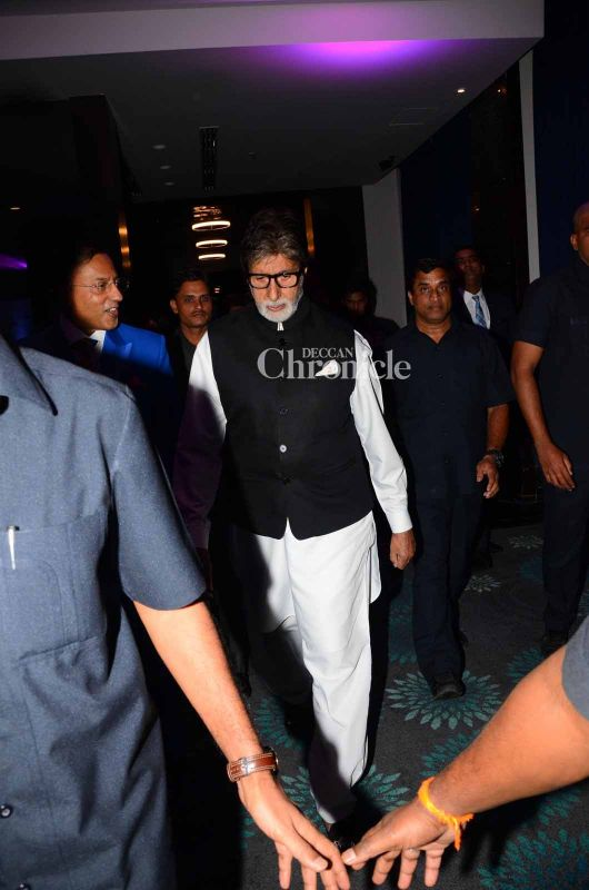 Amitabh Bachchan always lends his support for social causes.
