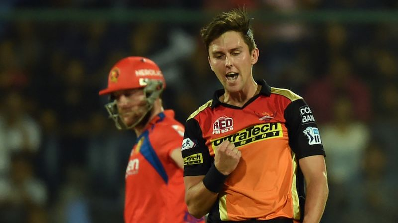 Trent Boult: The focus of franchises in 2017 auction was on pacers with the New Zealander going for Rs 5 crore to Kolkata Knight Riders.  (Photo: AFP)