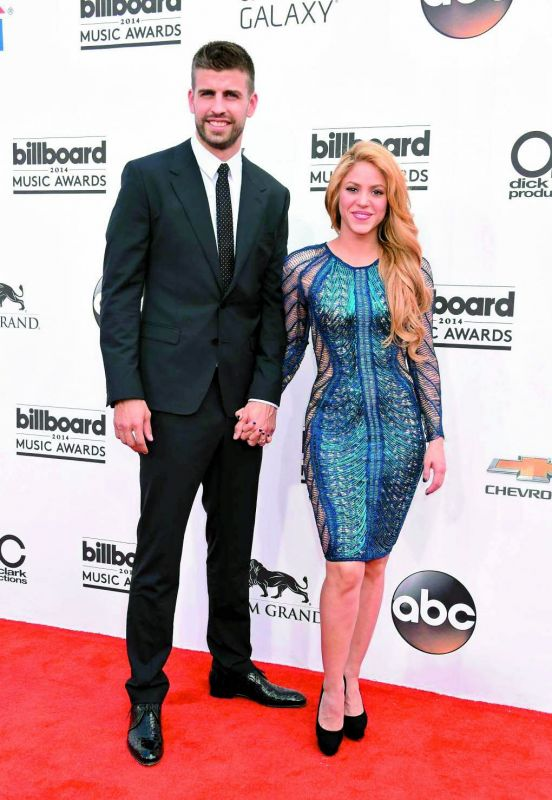 Shakira Isabel Mebarak Ripoll — Gerard Pique