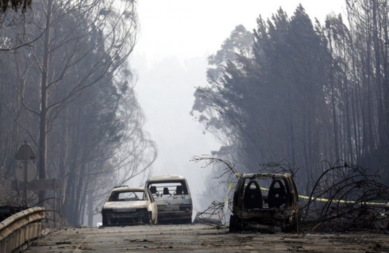 Spain sent four firefighting aircraft on Sunday, France was sending three and Greece's prime minister also offered firefighting help.