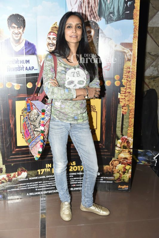 Suchitra Pillai was also among the celebrities spotted at the premiere.