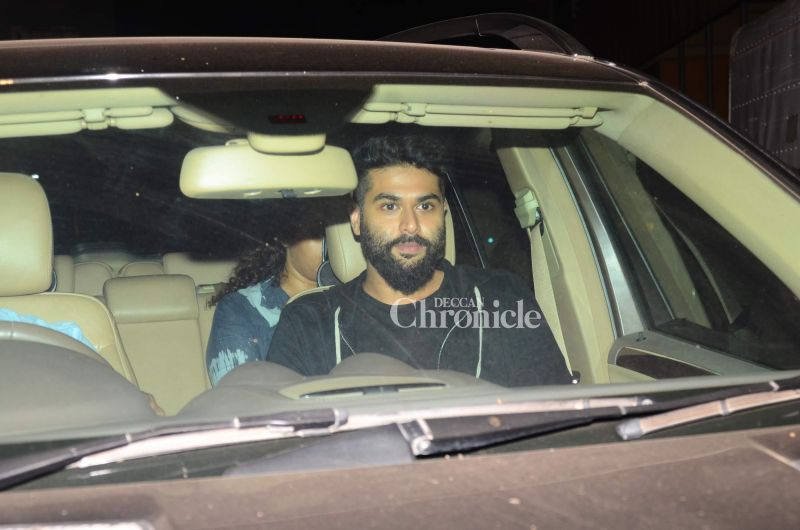 Fashion designer Kunal Rawal was also seen arriving for the screening.