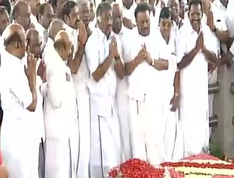 OPS to get party chief, Palaniswami to retain as CM — AIADMK merge