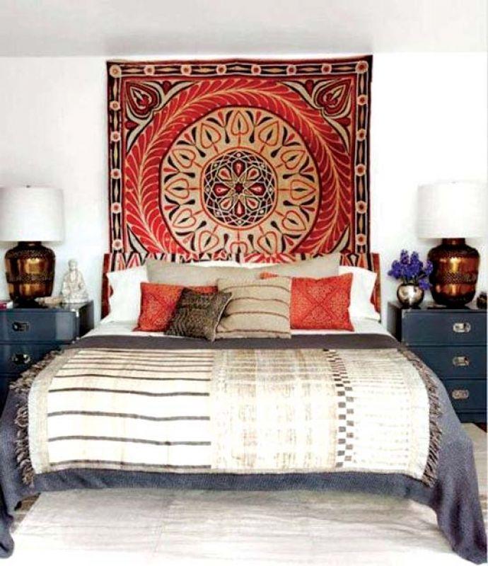 Tapestry brings alive stark walls