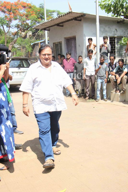 Rakesh Bedi had worked with her in the TV series 'Shrimaan Shrimati.'