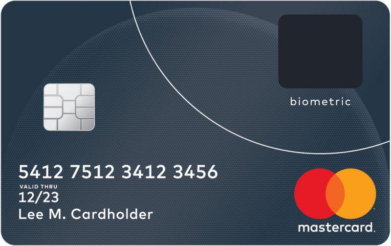 MasterCard fingerprint sensor
