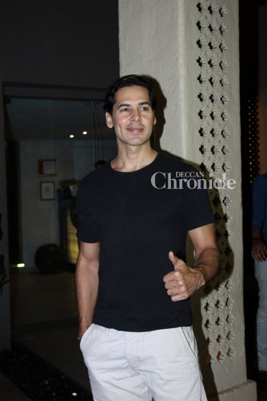 Dino Morea was spotted in Bandra.