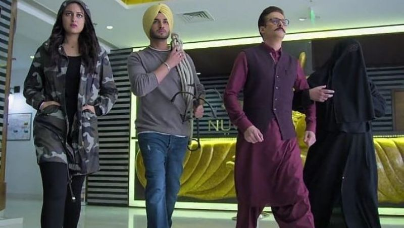 A still from Happy Phirr Bhaag Jayegi.