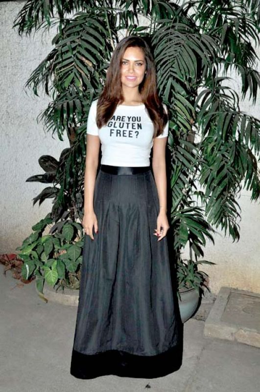 Esha Gupta proudly wears her questions!