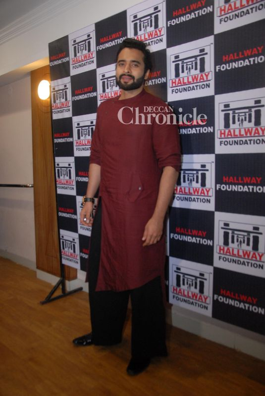 Jackyy Bhagani was seen at an event for Hallway Foundation.
