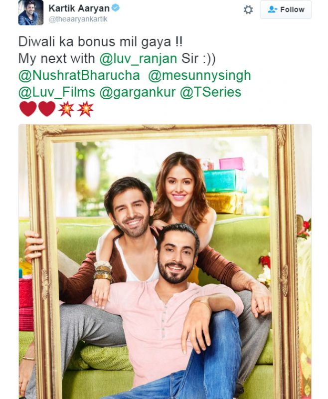 Pyaar Ka Punchnama Luv Ranjan: Kartik And Nushrat Get Fourth Time Lucky With Luv Ranjan