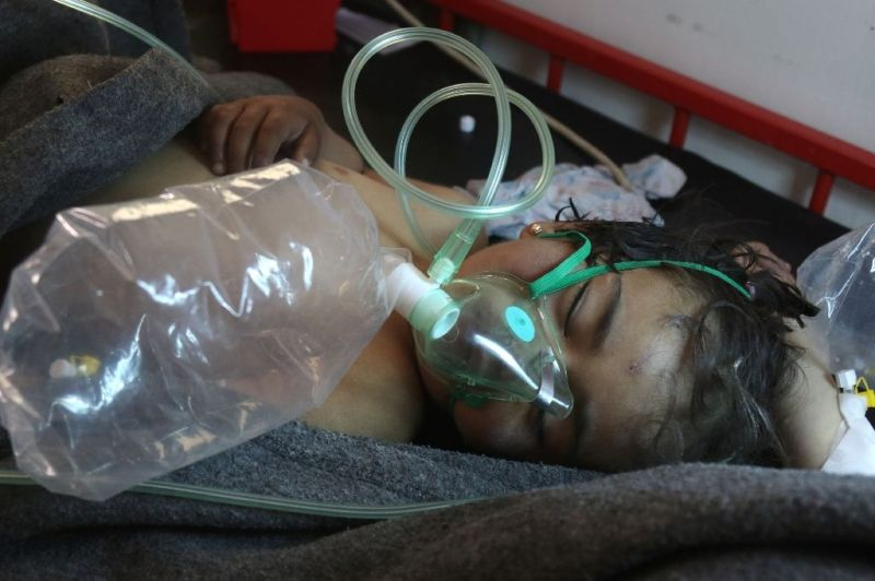 Syria's government officially joined the Chemical Weapons Convention and turned over its chemical arsenal in 2013.