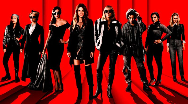 The lead starcast in the poster of 'Ocean's Eight'. (Courtesy: Warner Bros.Pictures - Village Roadshow Pictures)