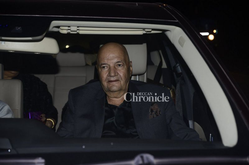 Prem Chopra was also seen arriving for the party.