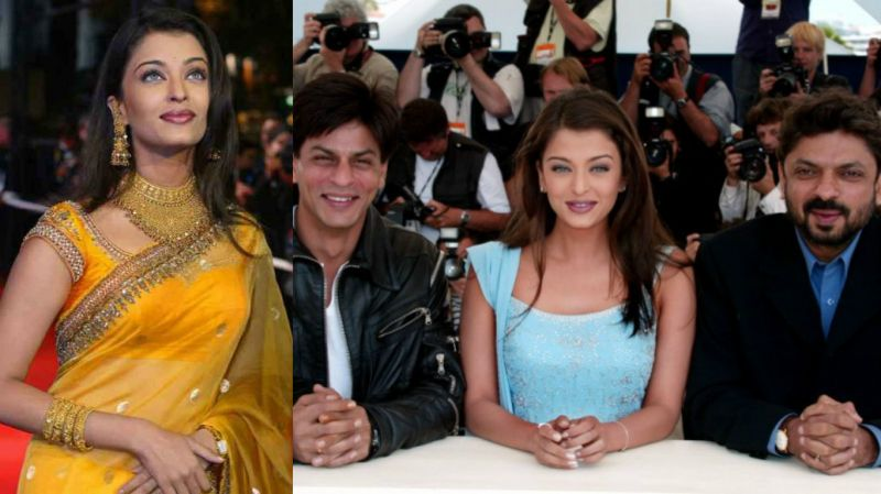 Let's also look at her attire journey starting from Cannes 2002. Aishwarya debuted at Cannes film festival, where her film 'Devdas' starring Shah Rukh Khan and directed by Sanjay Leela Bhansali was screened. Her heavily embellished bright yellow Neeta Lulla saree with heavy gold jewellery was heavily criticised.