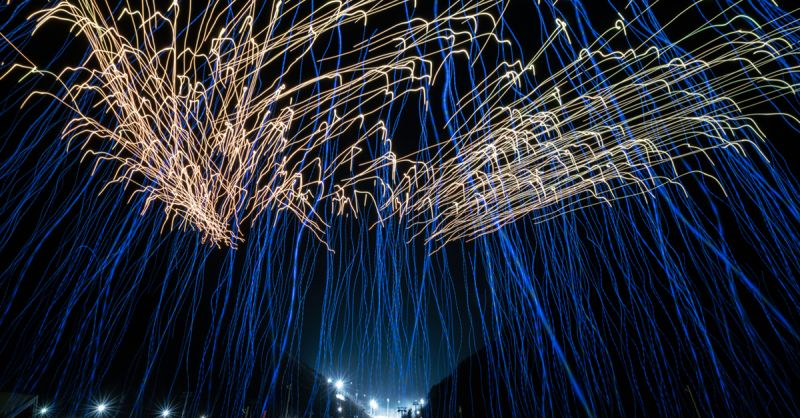 Intel drone light show Winter Olympics 2018