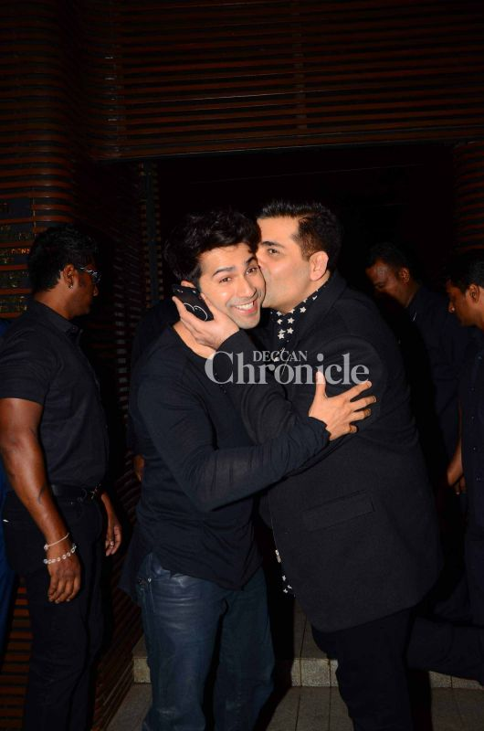 Karan had too much of love for Varun.