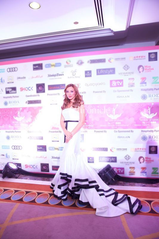 Iulia Vantur was also among the celebrities seen at the event.