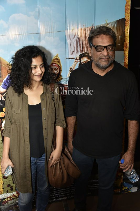 Gauri Shinde and R Balki were also seen together.
