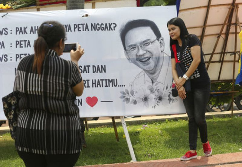 A five-judge panel last week said Jakarta Governor Ahok was 'convincingly proven guilty of blasphemy' and ordered his arrest