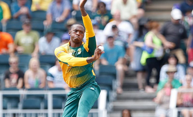 Kagiso Rabada: The South African pace bowler was the third most expensive player, bought by Delhi Daredevils for Rs 5 crore. (Photo: AFP)