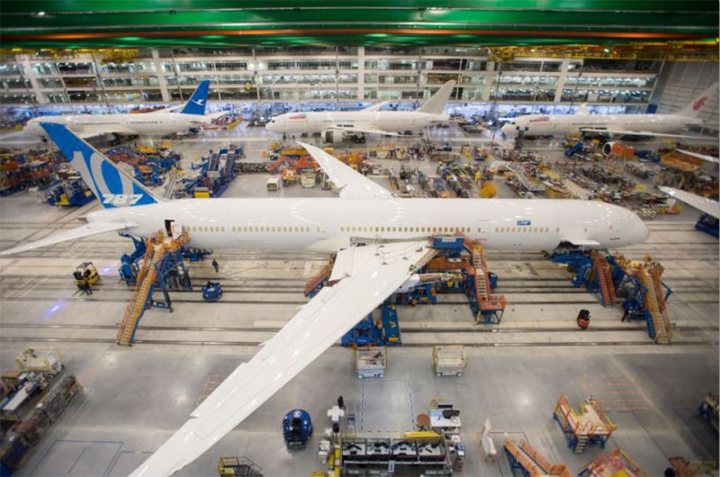 A longer fuselage adds seats and cargo, still 95 per cent identical to the 787-9.