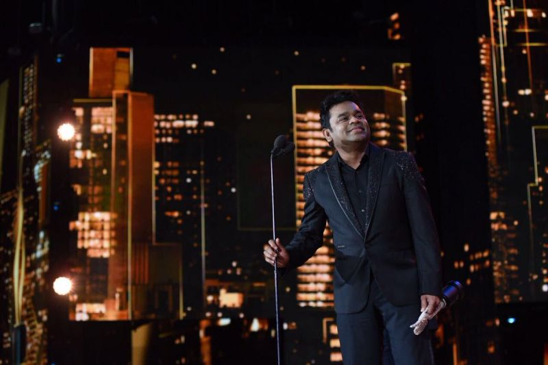 A R Rahman was acknowledged for his 25-year musical contribution to India cinema.