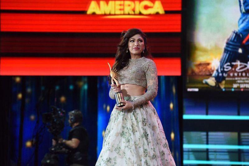 Tulsi Kumar won the Best Female Playback Singer for 'Airlift.'