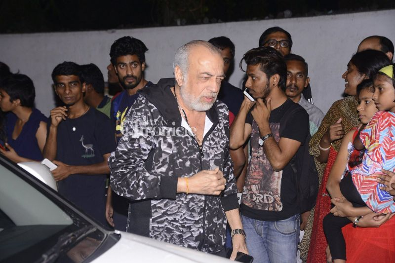 JP Dutta was also seen coming for the bash.