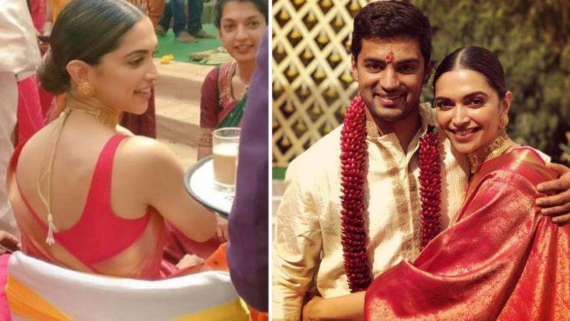 Deepika and Priyanka in saree