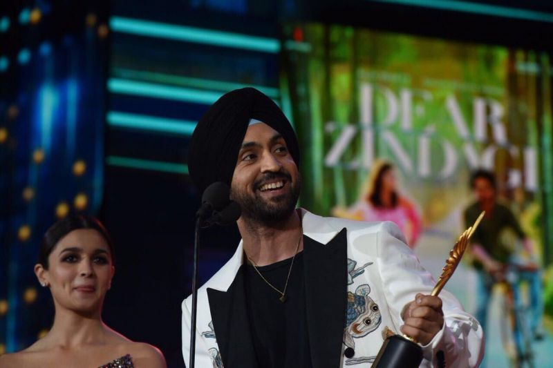 Diljit Dosanjh was adjudged Best Debut (Male) for 'Udta Punjab.'