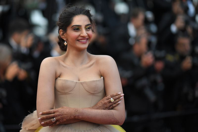 Sonam Kapoor at Cannes. (Photo: AFP)