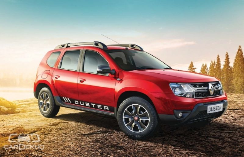 renault duster petrol automatic launched at rs lakh. Black Bedroom Furniture Sets. Home Design Ideas