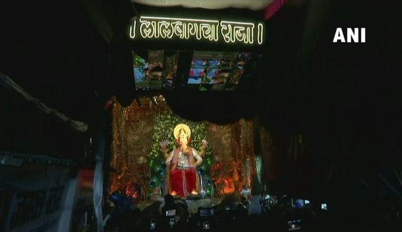 Lalbaugcha Raja (Photo: ANI)