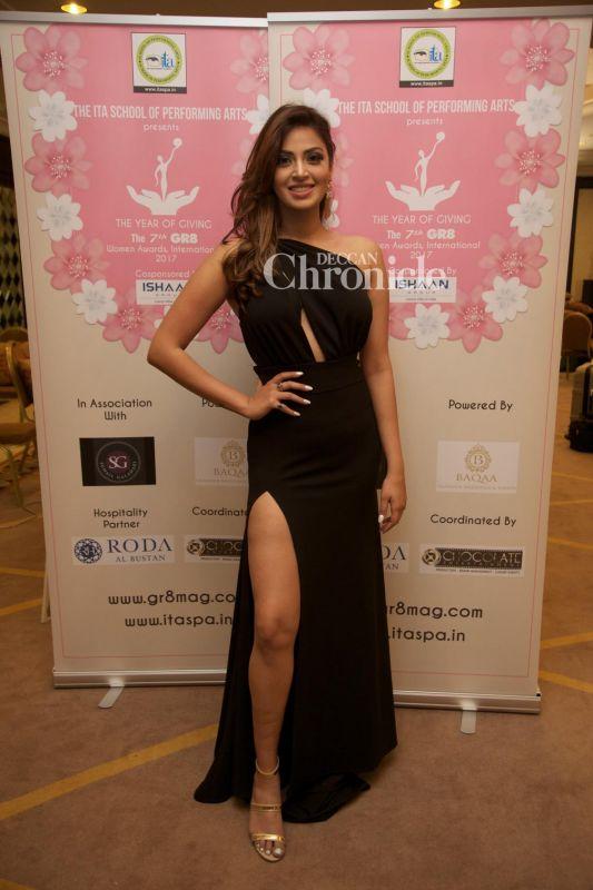 Alia's close friend Anushka Ranjan was also present at the event.